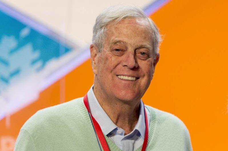 Десятое место разделили братья Чарльз и Дэвид Кох из Koch Industries, состояние каждого из них оценивают в 48,5 миллиарда долларов.