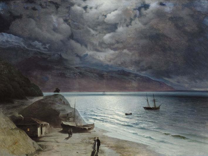 «Ночь в Гурзуфе», 1891 год.