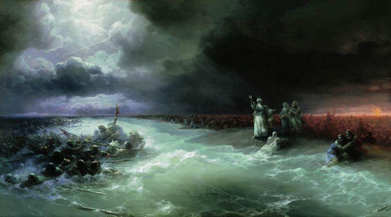 «Переход евреев через Красное море», 1891 год.