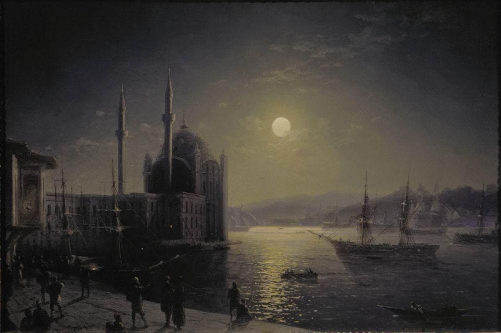 «Лунная ночь на Босфоре», 1894 год.