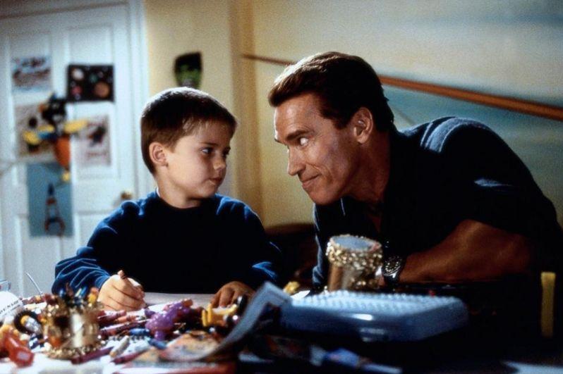 В фильме «Подарок на Рождество» (1996) Арнольд сыграл невнимательного отца, которому предстоит успеть найти игрушку для своего сына до Рождества.