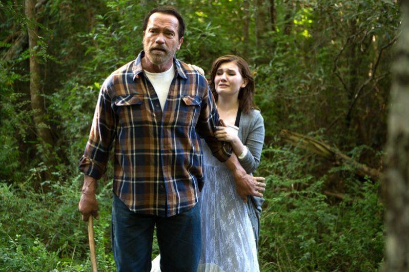 В 2015 году Шварценеггер снялся в фильме «Зараженная», в котором сыграл роль фермера и отца девочки-зомби.