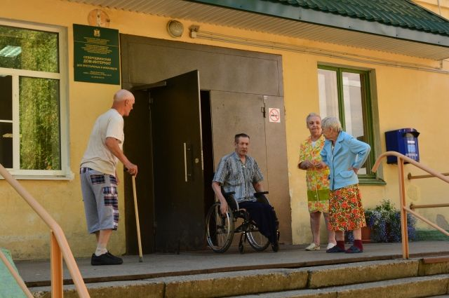 Дом престарелых в заостровье архангельск гипс после операции при переломе шейки бедра