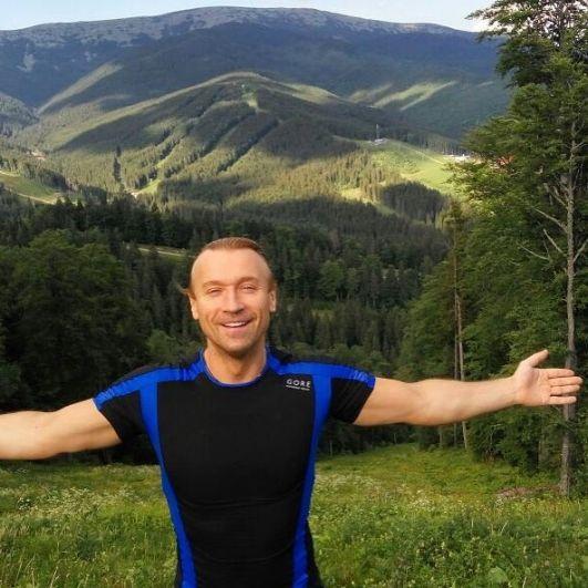 Вокалист любит природу, а особенно украинские Карпаты