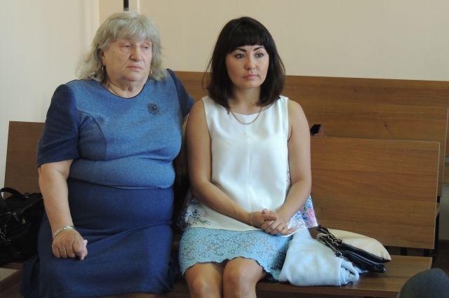 Зоя и Екатерина Тугановы.