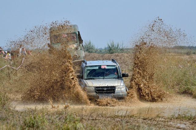 В Ноябрьске состоялся грязный автопробег