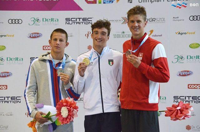 Егор Павлов выиграл серебро на дистанции 200 м баттерфляй.