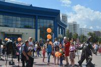 В День города Цветной бульвар - центр притяжения тюменцев: фотографии