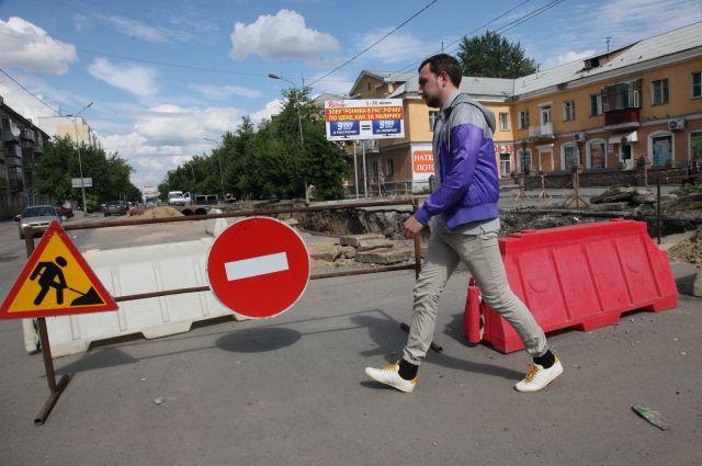 Сквозной проезд на перекрёстке проспекта Мира и ул. 9 Января будет полностью закрыт.