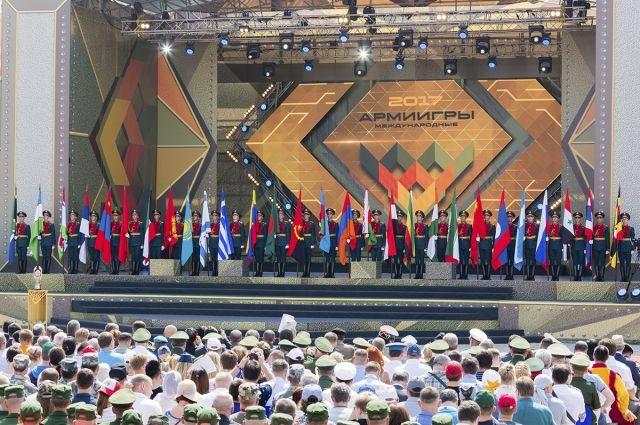 В Подмосковье стартовали Армейские международные игры-2017