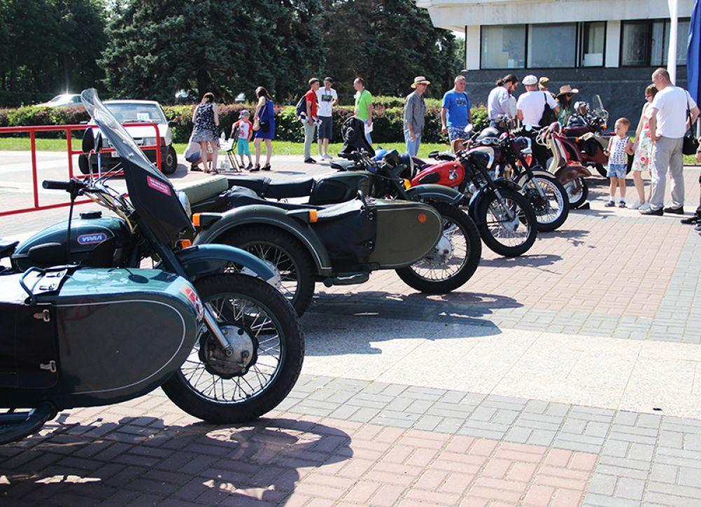 Коллекция мотоциклов