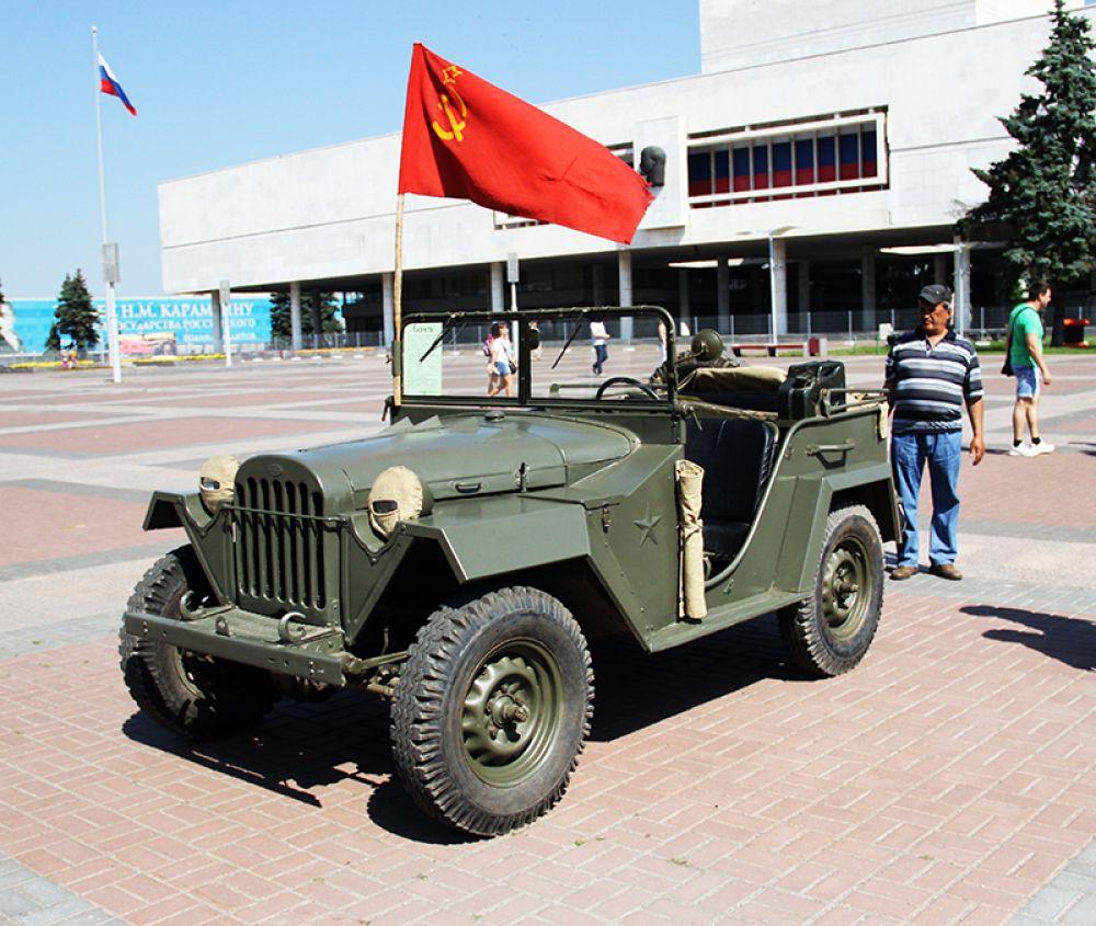 Легендарный ГАЗ-67
