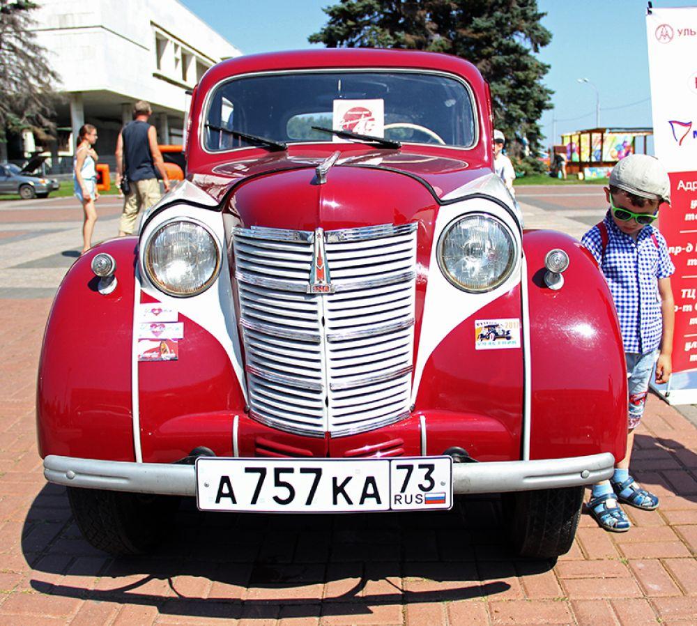 """Последний """"Москвич-401"""" сошёл с конвейера в 1956 году"""