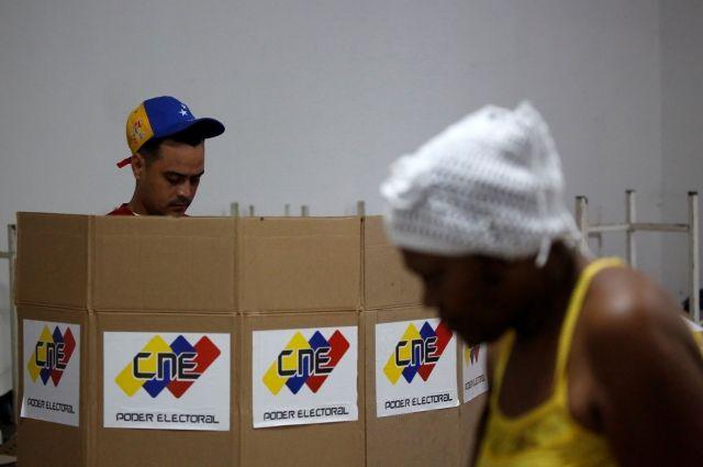Власти Венесуэлы сообщили о«рекордной» явке навыборах