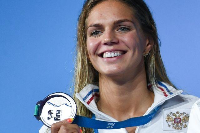 Россия заняла третье место в медальном зачете ЧМ по водным видам спорта