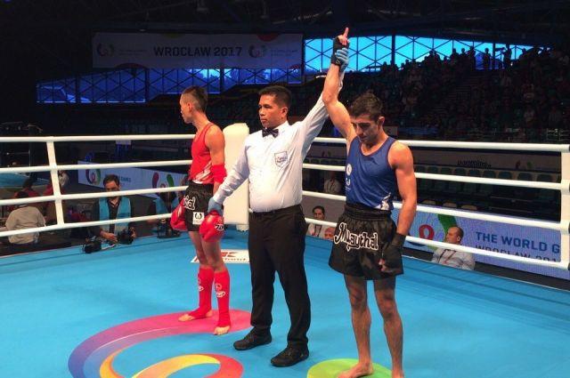 Бронза досталась мастеру спорта России Асланбеку Зикрьёеву в весовой категории до 54 кг.