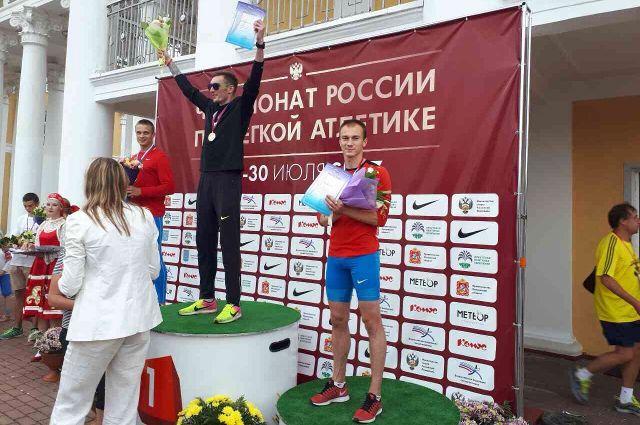 До бронзы ЧР по легкой атлетике тюменской четверке немного не хватило