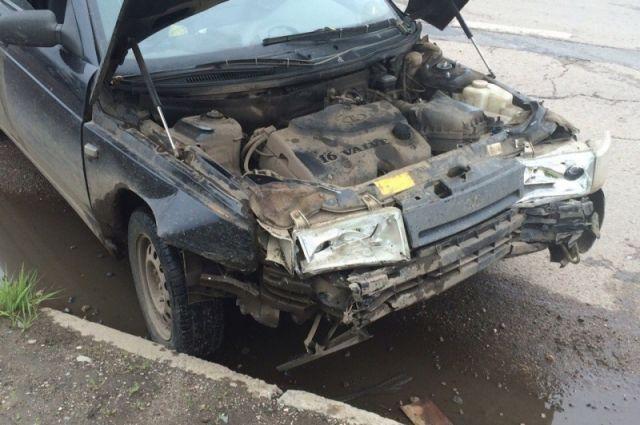 В автоаварии несколько человек пострадали.