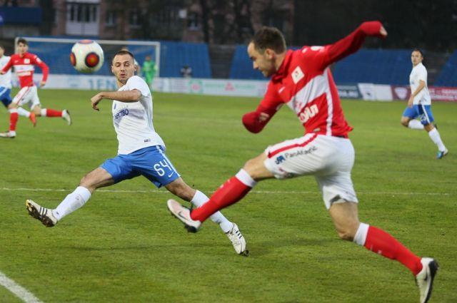 «Балтика» обыграла «Спартак-2» вматче главенства ФНЛ