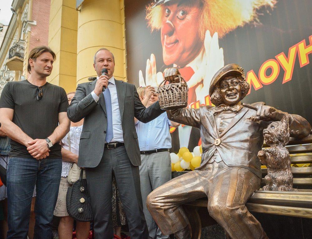 «Для нас большая честь, что именно в Ростове-на-Дону будет находиться скульптурный комплекс «Солнечный клоун», сказал глава администрации города Виталий Кушнарёв.
