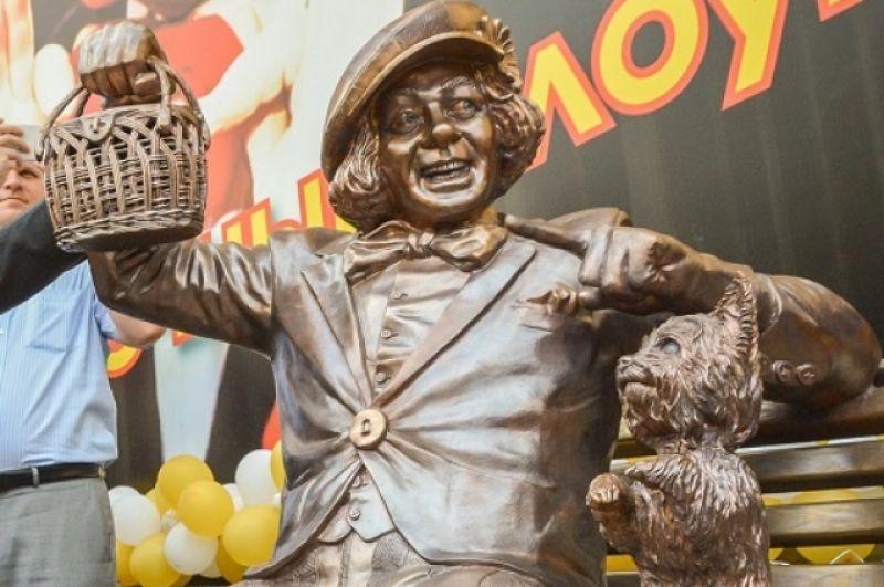 Вес памятника 850 килограммов, стоимость - два миллиона рублей. Средства были выделены партнерами цирка.