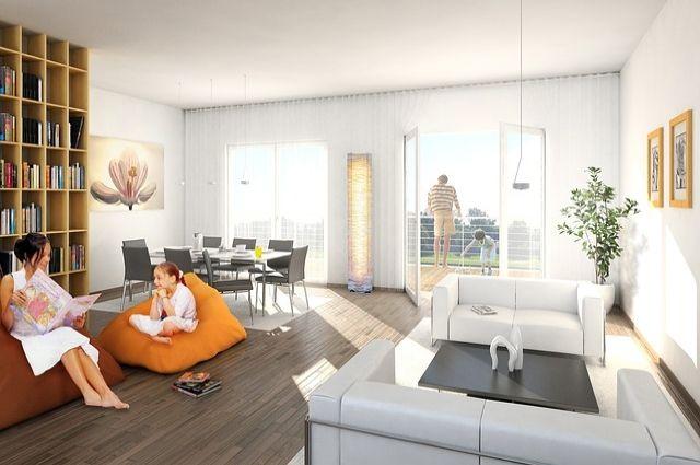 Ишимской семье с тройняшками улучшат жилищные условия