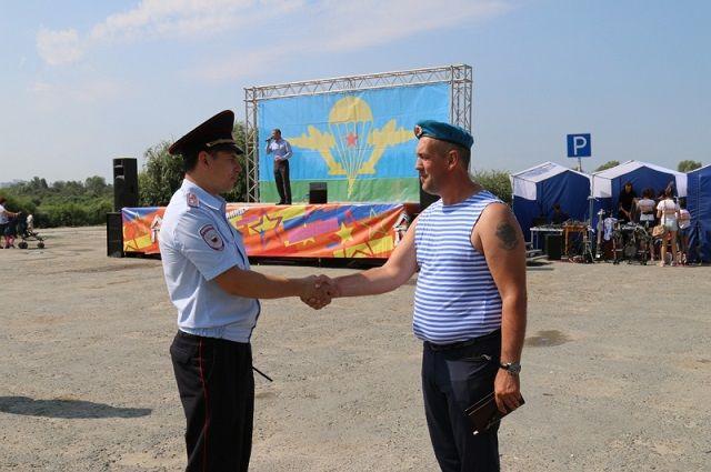 В День ВДВ тюменские десантники дадут концерт