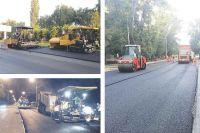 День и ночь идёт ремонт участка бульвара Энтузиастов — от ул. К. Маркса до ул. Рылеева.