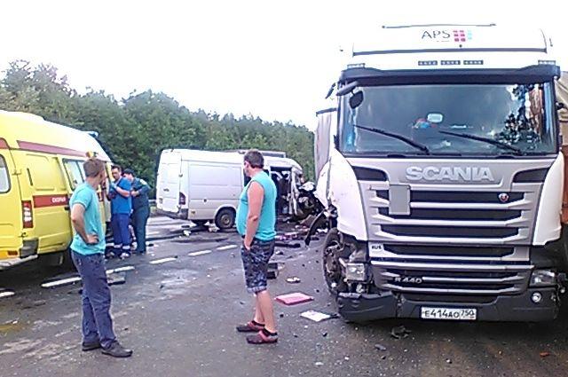 ВСудогодском районе столкнулись 4 автомобиля