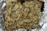 Так выглядит переработанная марихуана.