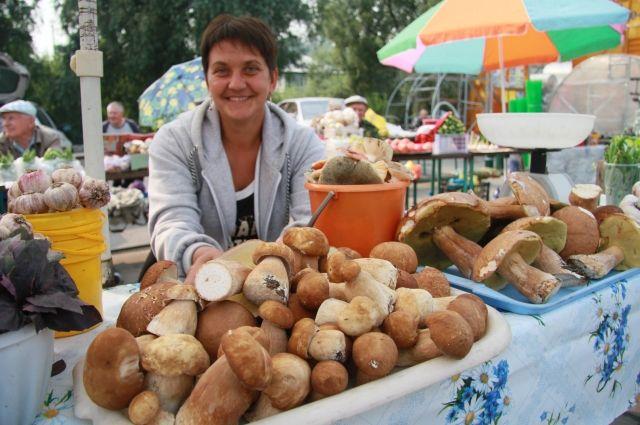 Белый гриб в этом году уродился в Волчихинском и Егорьевском районах.