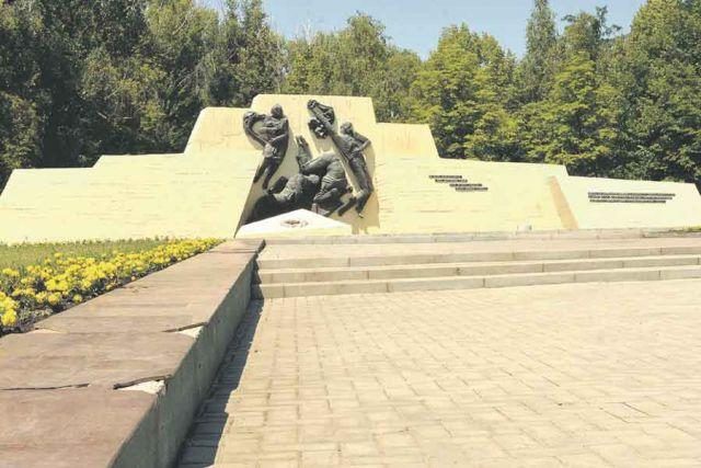 Сегодня монумент находится в ненадлежащем состоянии.