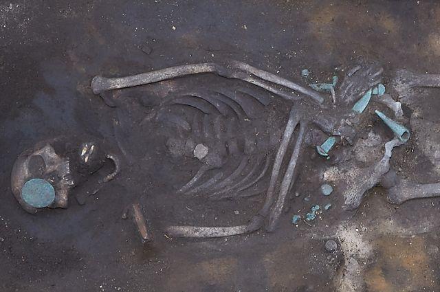 Археологи предположили, что это могила почитаемого воина или представителя знати.
