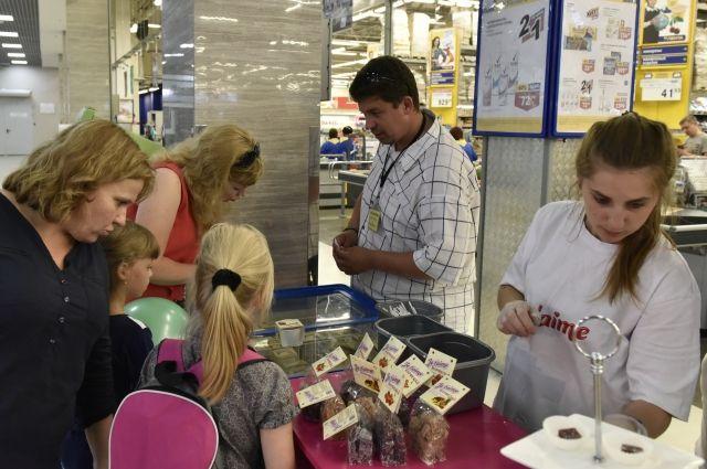 Брянское мороженое и мармелад порадовали посетителей своим вкусом.