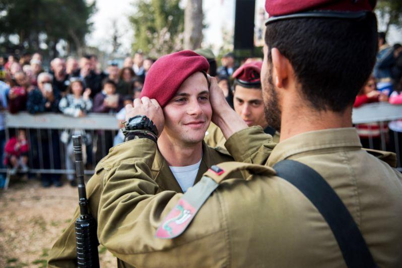 Израиль. В Израиле ВДВ представляет 35-я парашютно-десантная бригада «Цанханим»— элитное подразделение, считающееся наиболее боеспособным среди регулярных пехотных бригад.