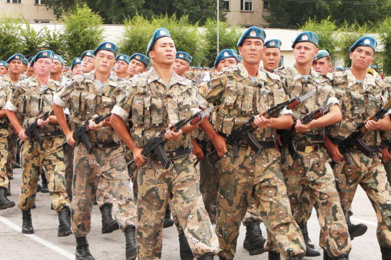 Казахстан. Аэромобильные войска.