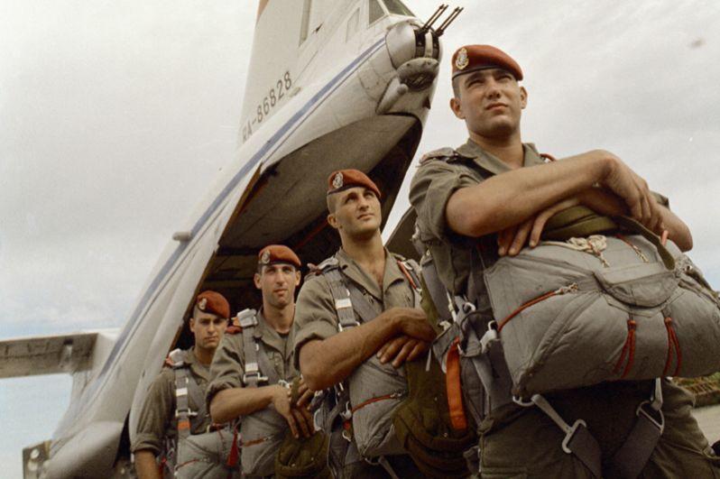 Франция. Воздушно-десантные силы Франции представлены 11-й парашютно-десантной бригадой.