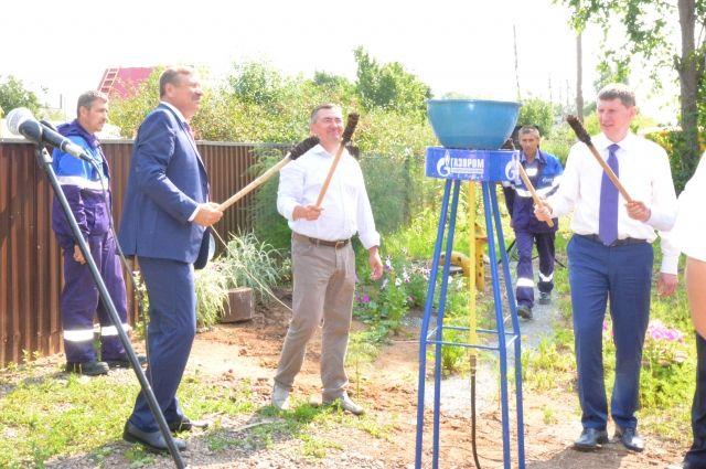 В Тишково газ появился 31 июля. Теперь им смогут пользоваться 220 жителей деревни.
