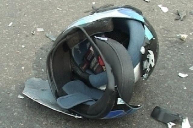 Водителя мотоцикла госпитализировали после ДТП вцентре Красноярска