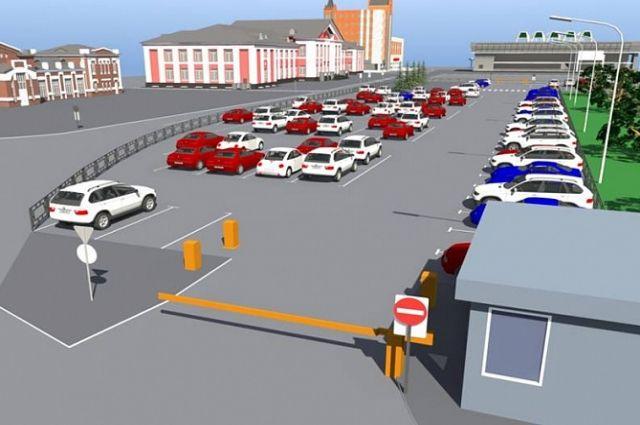 ВБарнауле построят современный парковочный комплекс