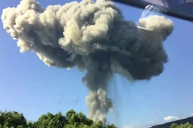 СКР проведёт доследственную проверку взрыва наскладе боеприпасов вАбхазии