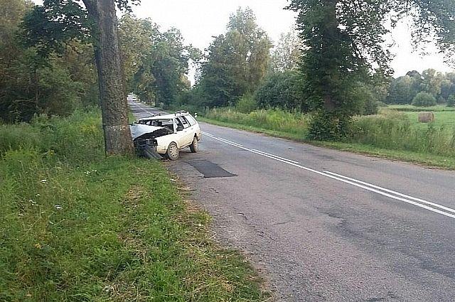 На дороге у границы с Польшей нетрезвый водитель устроил смертельное ДТП.