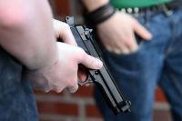 В Новокузнецке пьяный водитель угрожал полицейским пистолетом.