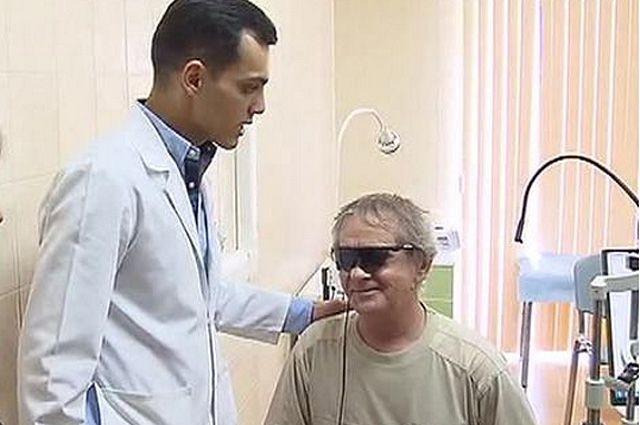 Григорий Ульянов после операции.
