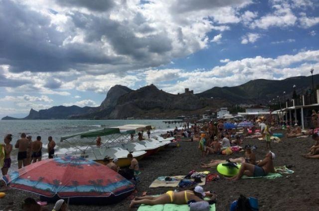 ВКрыму всамом начале года побывали практически 3 млн туристов