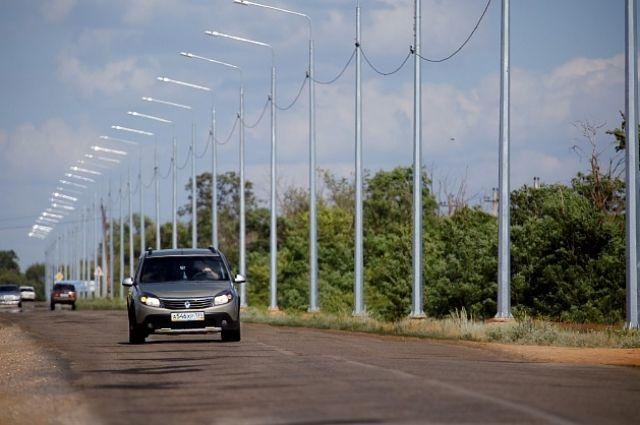 Дорожники завершили ремонт дороги навъезде вВолгоград состороны Элисты