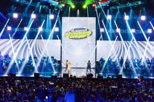 Большой Весенний Концерт вот Дворце «Украина» в Киеве.