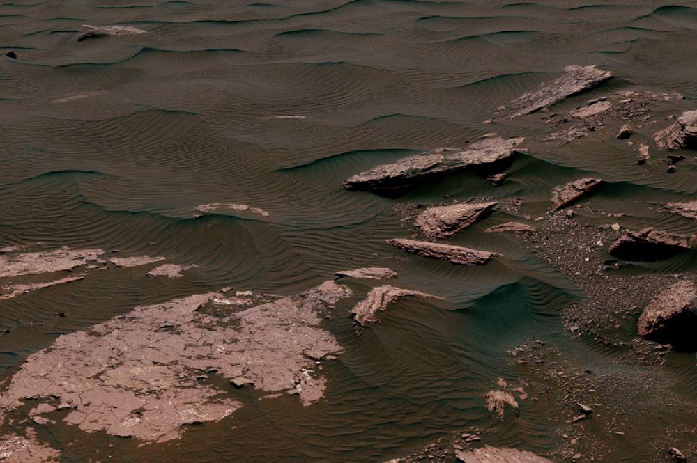 Май 2017 года. Марсианские дюны.
