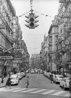 Пешеходный переход на одной из улиц города Вены. 1965 год.