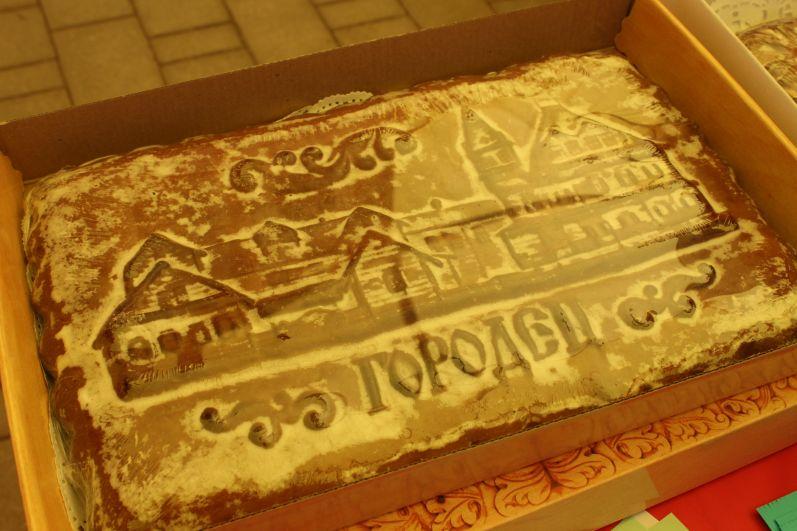 Из Нижегородской области привезли традиционные печатные пряники